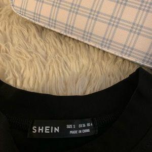 SHEIN Tops - Shein Cosmic Rhinestone Crop top New ✨